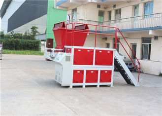 High Capacity Waste Shredder Machine, Industrial Plastic Shredder Automatic Reverse Sensors